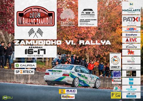 VI Rallye de Zamudio Cartel_zamudio_2018